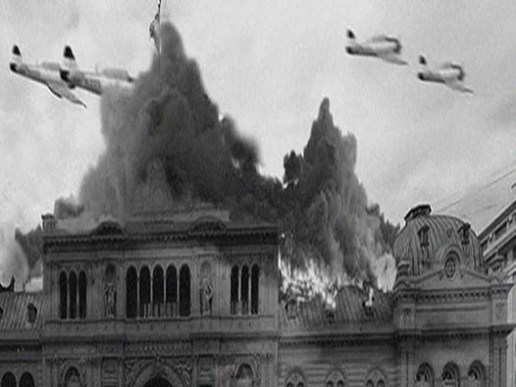 El día que bombardearon a la dictadura de Perón. Por