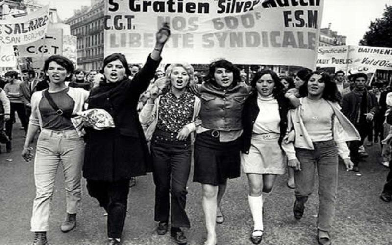 Resultado de imagen de mayo 68 francés genero
